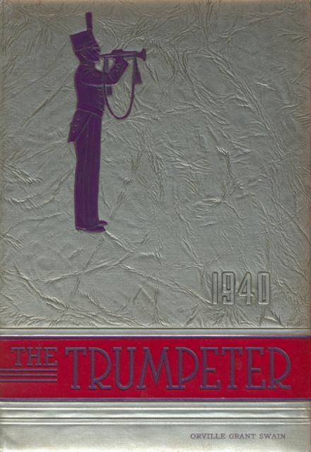 1940 St. John's Military Academy Yearbook Cover