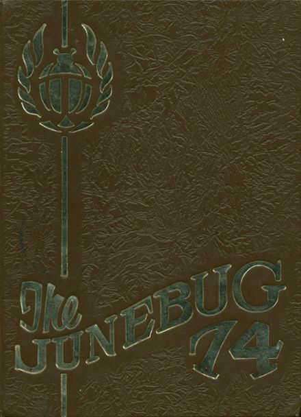 1974 East Technical High School Yearbook Cover