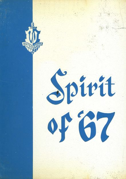 1967 Watsonville High School Yearbook Cover