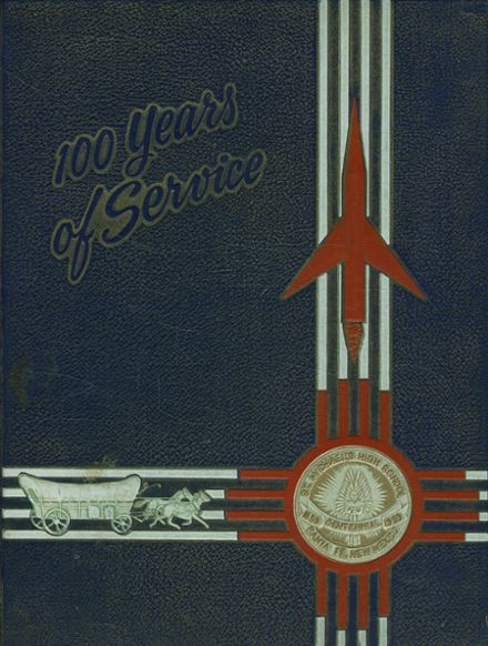 1959 St. Michael's High School Yearbook Cover