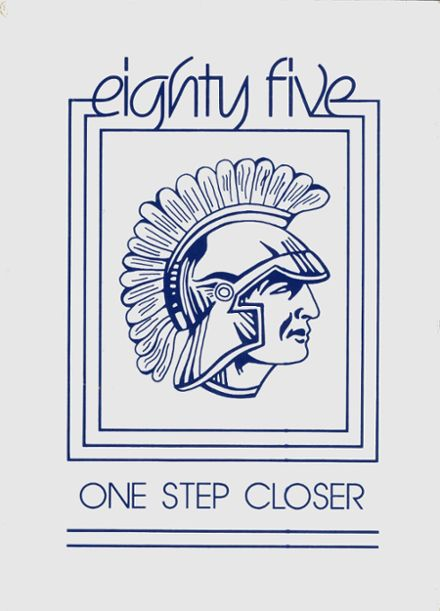 1985 St. Mary's High School Yearbook Cover