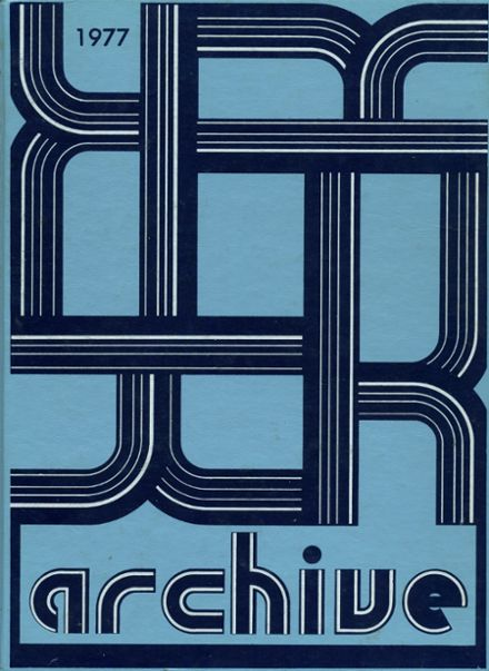 1977 Valley Forge High School Yearbook Cover