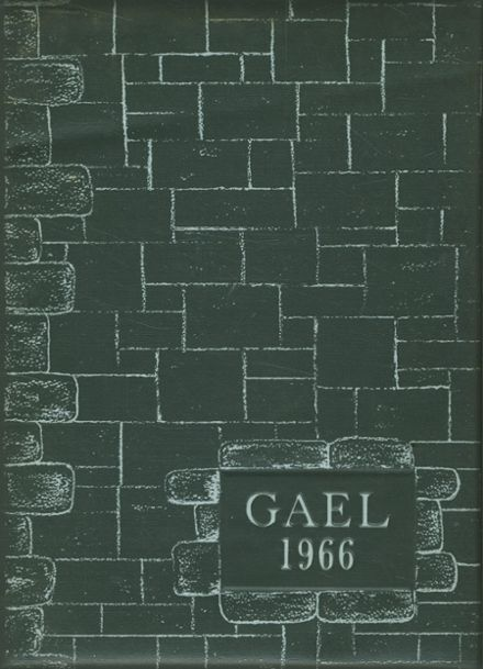 1966 St. Mary's Academy Yearbook Cover