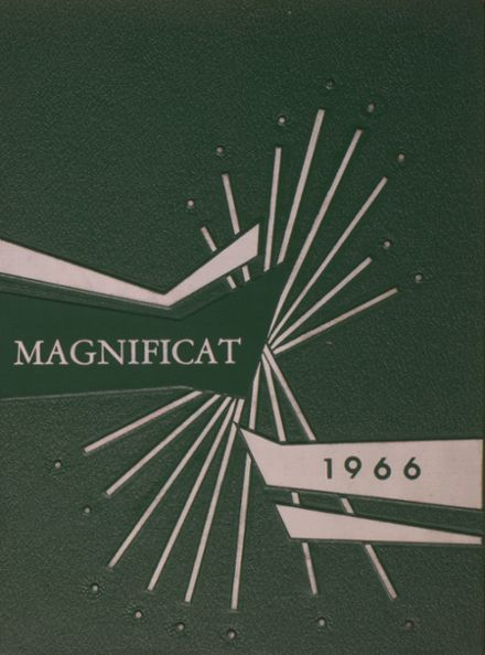 1966 St. Paul's High School Yearbook Cover
