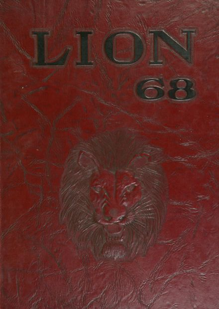 1968 Searcy High School Yearbook Cover