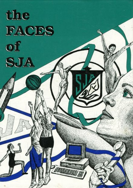 1990 St. Joseph's Academy Yearbook Cover