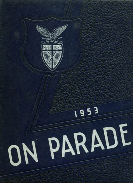1953 St. Joseph's Military High School Yearbook Cover