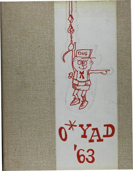 1963 Deerfield High School Yearbook Cover