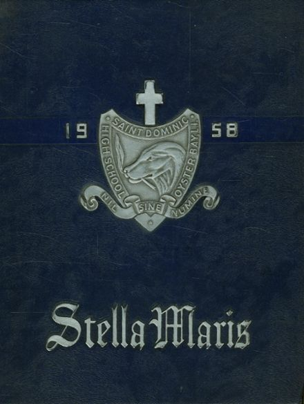 1958 St. Dominic's High School Yearbook Cover