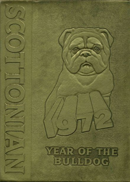 1972 Scott High School Yearbook Cover