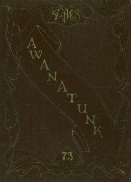 1973 Tunkhannock Area High School Yearbook Cover