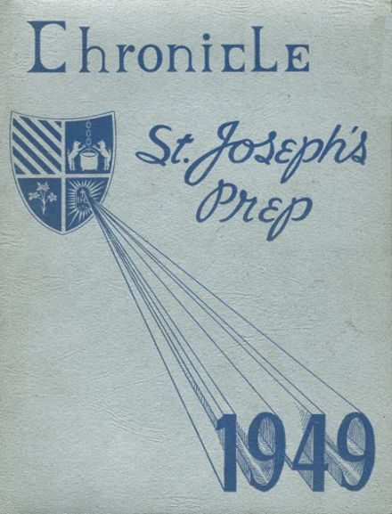 1949 St. Joseph's Prep School Yearbook Cover