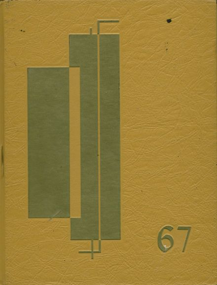 1967 Cupertino High School Yearbook Cover