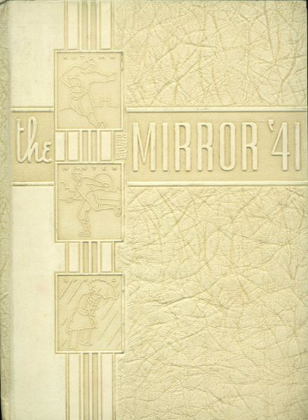 1941 East Huntingdon High School Yearbook Cover