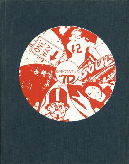 1970 Parkland High School Yearbook Cover