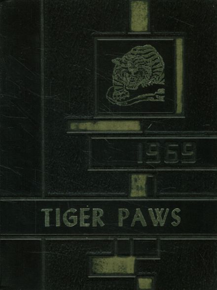 1969 Jeanerette High School Yearbook Cover