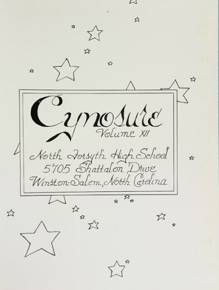 1975 North Forsyth High School Yearbook Page 5
