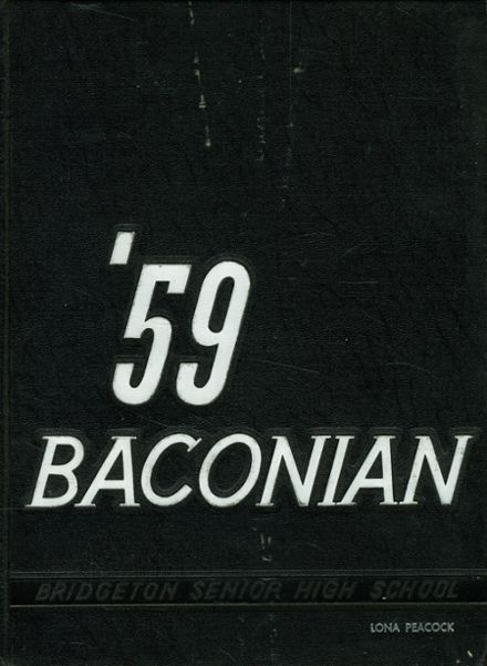 1959 Bridgeton High School Yearbook Cover
