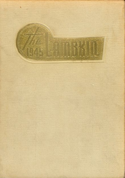 1945 Ft. Collins High School Yearbook Cover
