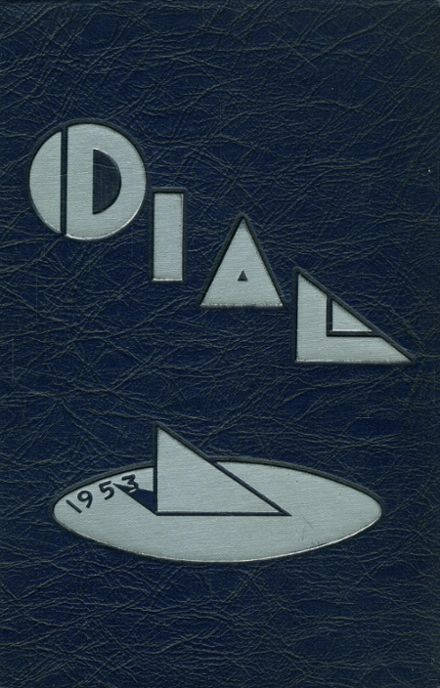 1953 The Hill School Yearbook Cover