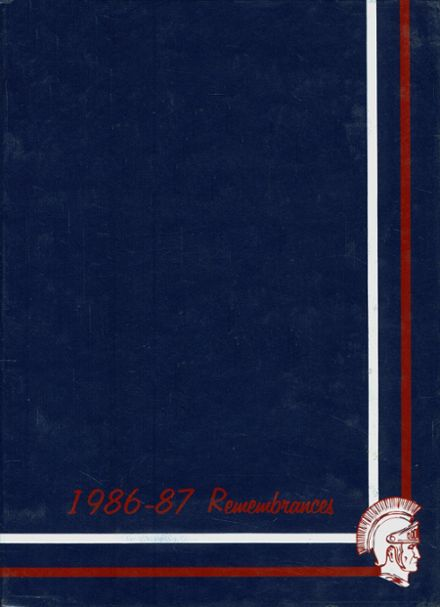1987 Fountain Fort Carson High School Yearbook Cover