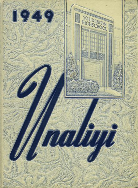 1949 Souderton High School Yearbook Cover