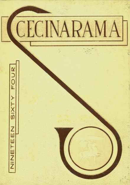 1964 Scecina Memorial High School Yearbook Cover
