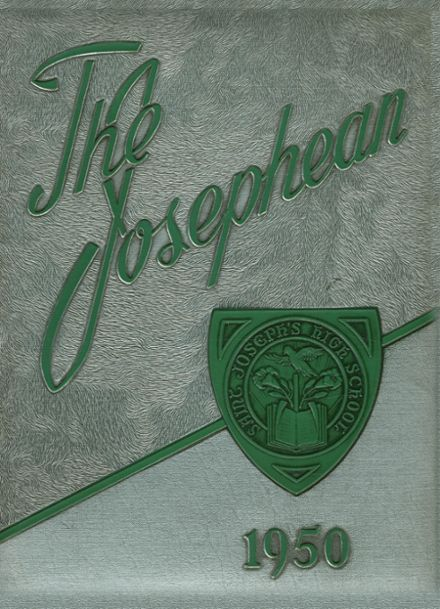 1950 St. Joseph's High School Yearbook Cover