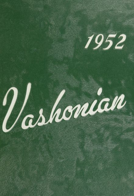 1952 Vashon High School Yearbook Cover