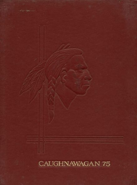1975 Fonda-Fultonville High School Yearbook Cover