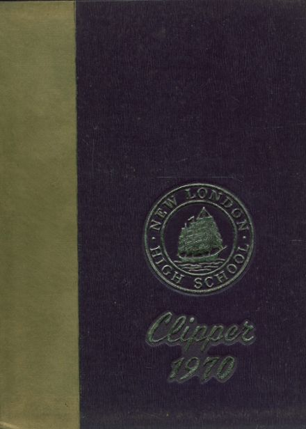1970 New London High School Yearbook Cover