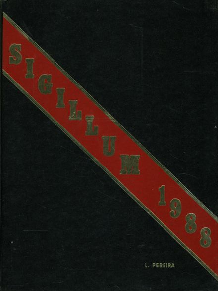 1988 St. Paul's High School Yearbook Cover