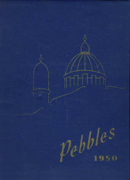 1950 St. John's Academy Yearbook Cover