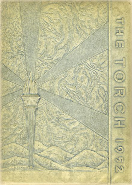 1952 St. Mary's Seminary Yearbook Cover