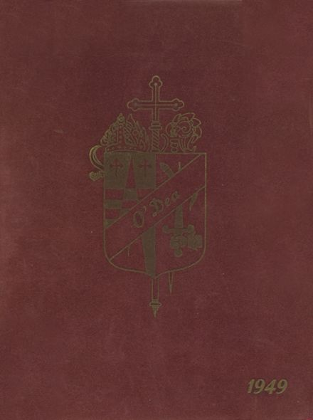 1949 O'Dea High School Yearbook Cover