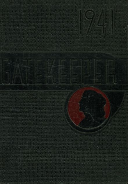 1941 St. Peter's High School Yearbook Cover
