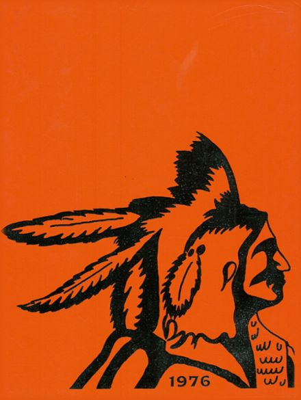 1976 Pontiac Central High School Yearbook Cover