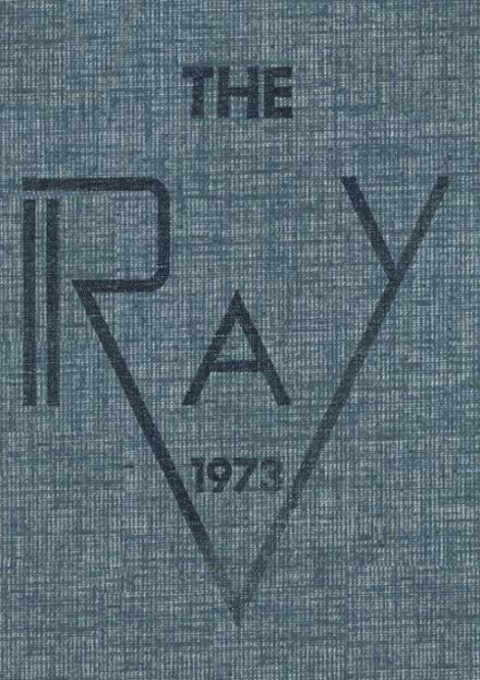 1973 St. Raymond Academy for Girls Yearbook Cover
