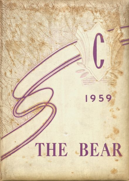 1959 Chandler's High School Yearbook Cover