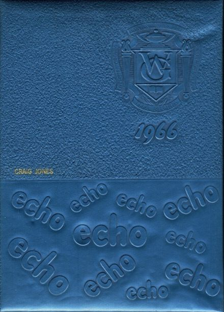 1966 Webster Groves High School Yearbook Cover