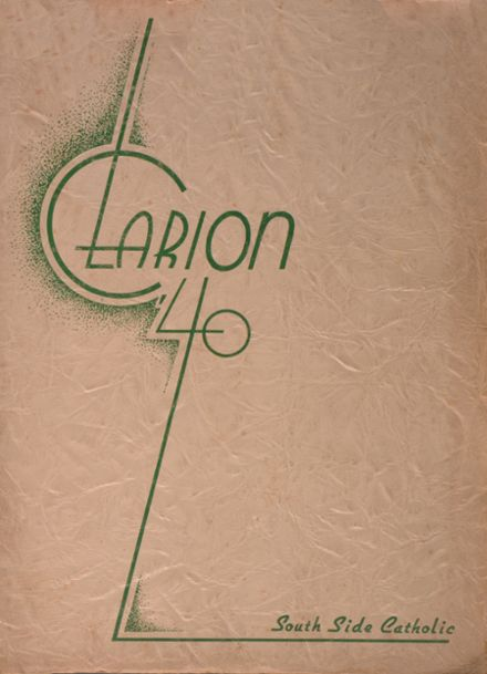 1940 St. Mary's High School Yearbook Cover