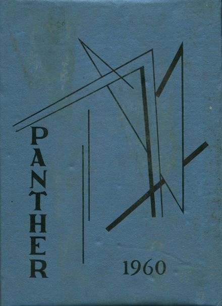 1960 Park Rapids High School Yearbook Cover