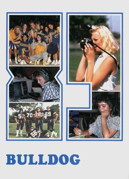 1989 Gridley High School Yearbook Cover