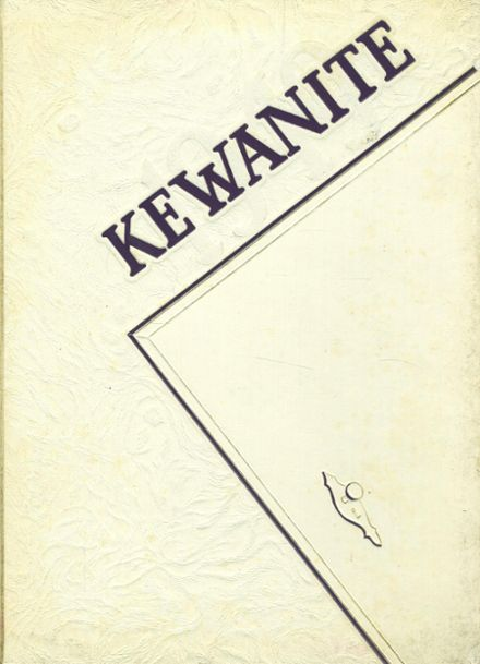 1949 Kewanee High School Yearbook Cover