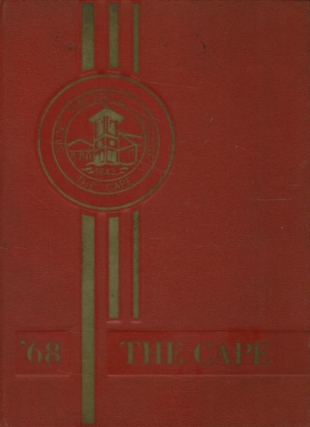 1968 St. Vincent's College Yearbook Cover