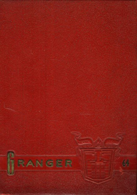 1964 LaGrange High School Yearbook Cover