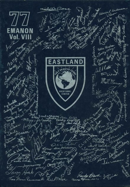 1977 Eastland Vocational Yearbook Cover