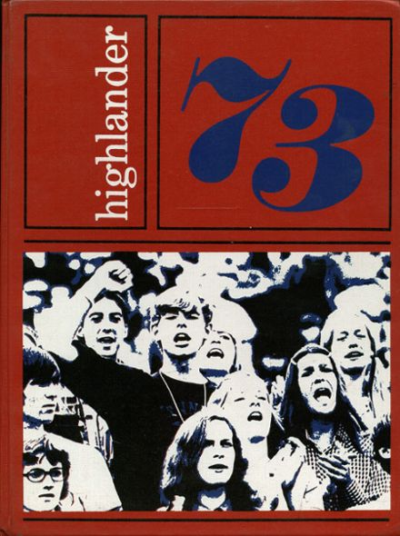 1973 Bel Air High School Yearbook Cover