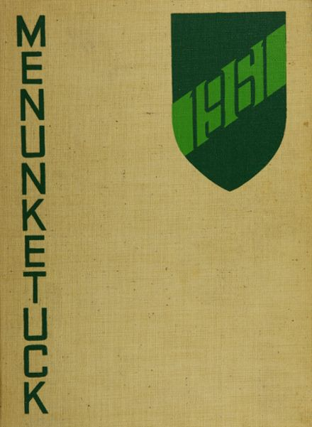 1961 Guilford High School Yearbook Cover