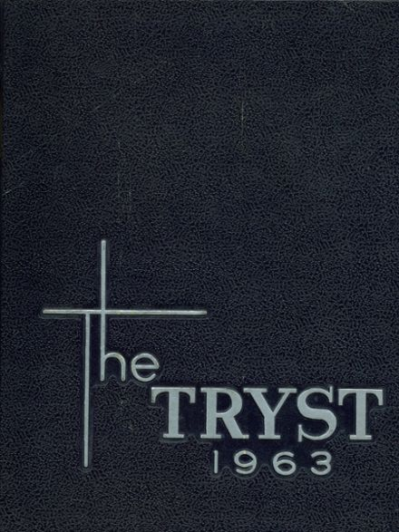 1963 Notre Dame Academy Yearbook Cover
